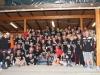 Die Volleyball-Fans: Eine große Familie