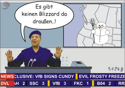 VfB-Spielerin eingeschneit? Dynamics-TV klärt auf!