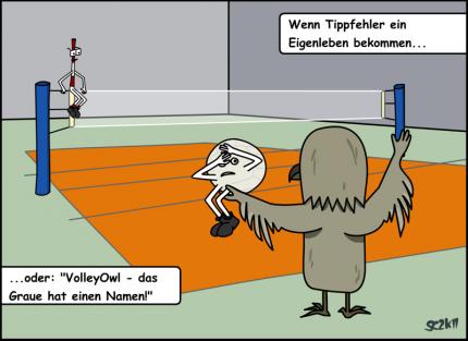 VolleyOwl - Das Graue hat einen Namen