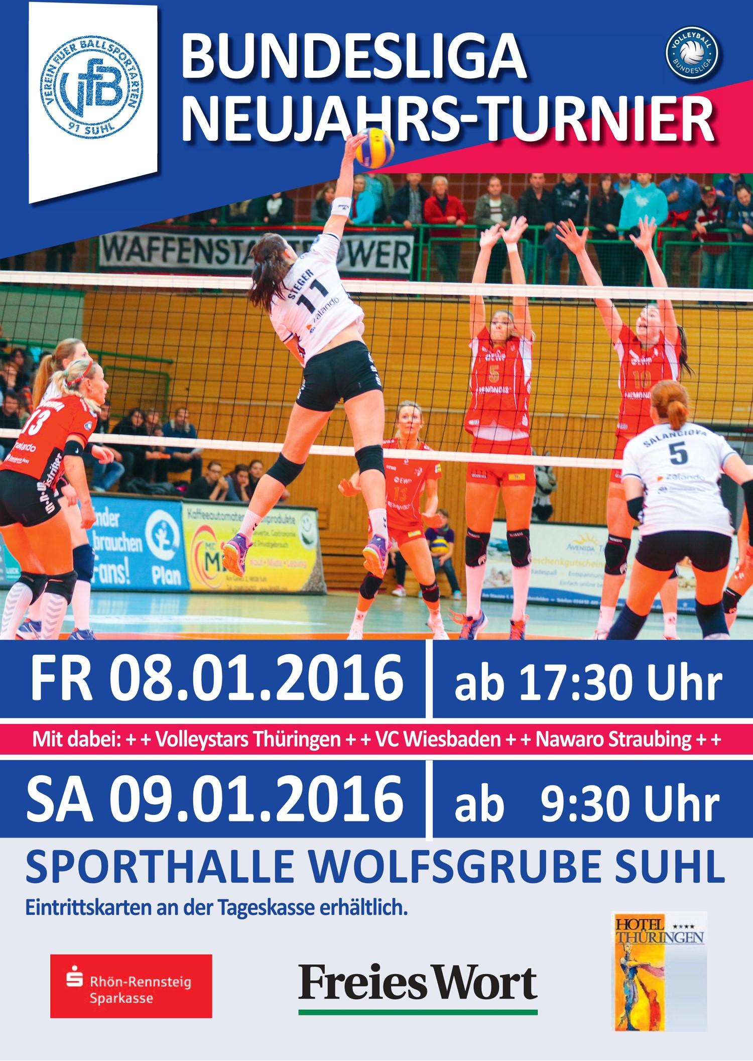 Neujahrsturnier 2016 VolleyStars Thüringen