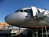 Stilecht unterwegs mit Aeroflot