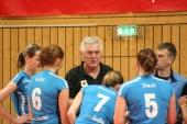 Streckenweise ratlos - Sinsheims Trainer R.Sonnenbichler