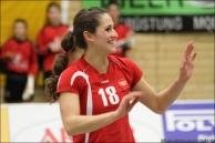 2011/12 noch im Dress des KSC - Stefanie Golla