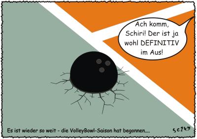 Die VolleyBowl-Saison steht vor der Tür