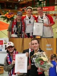Fanclub Award: Preisträgerinnen '08 und '09